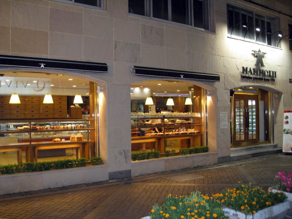 Koreans love French bakeries (we never figured out why!) and this was one of our favourites, Mammoth Bakery.