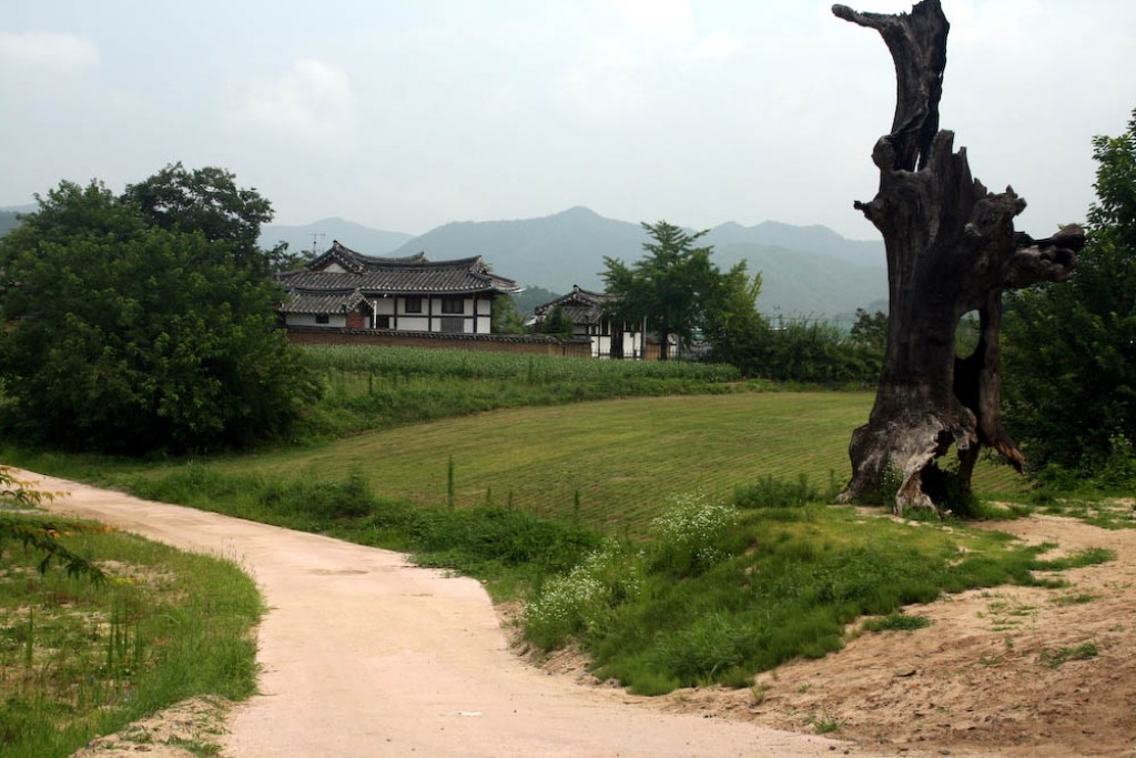 Hahoe Folk Village, Andong, South Korea