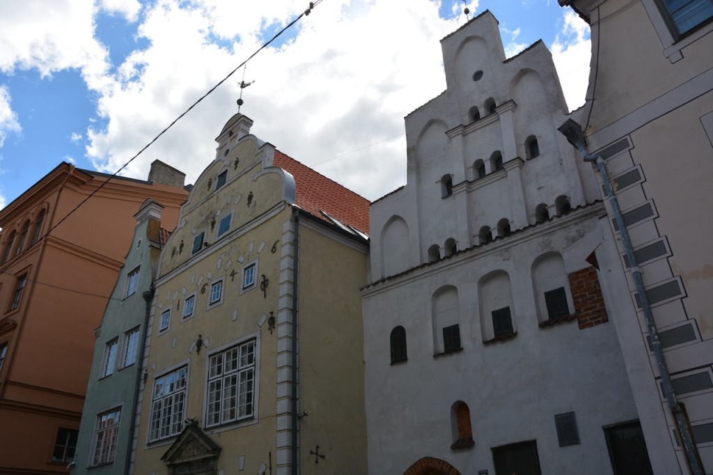 Three brothers, the oldest buildings in Riga