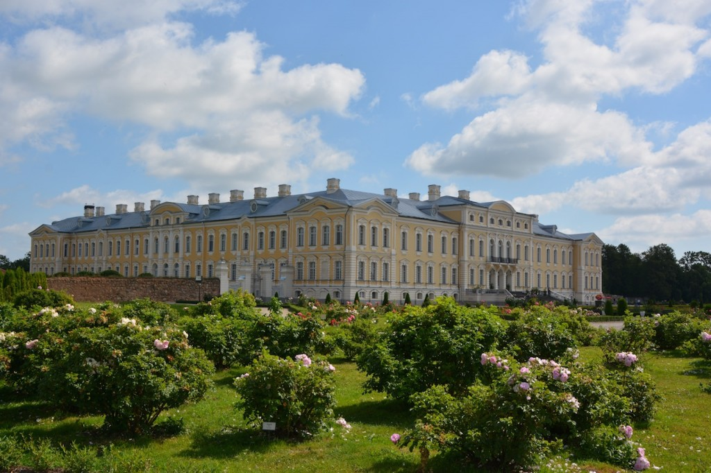 Rundale Palace was one of the best surprises on our trip. The castle itself was beautiful, bite-sized and very quiet.  The gardens were lovely, and the kids loved running around and smelling all the roses.