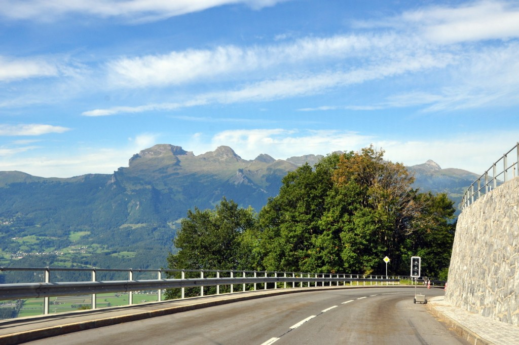 We spent a night in Liechtenstein and were pleasantly surprised by the tiny country.  Not only was the scenery stunning, but Vaduz was a nice little town, with a great winery!