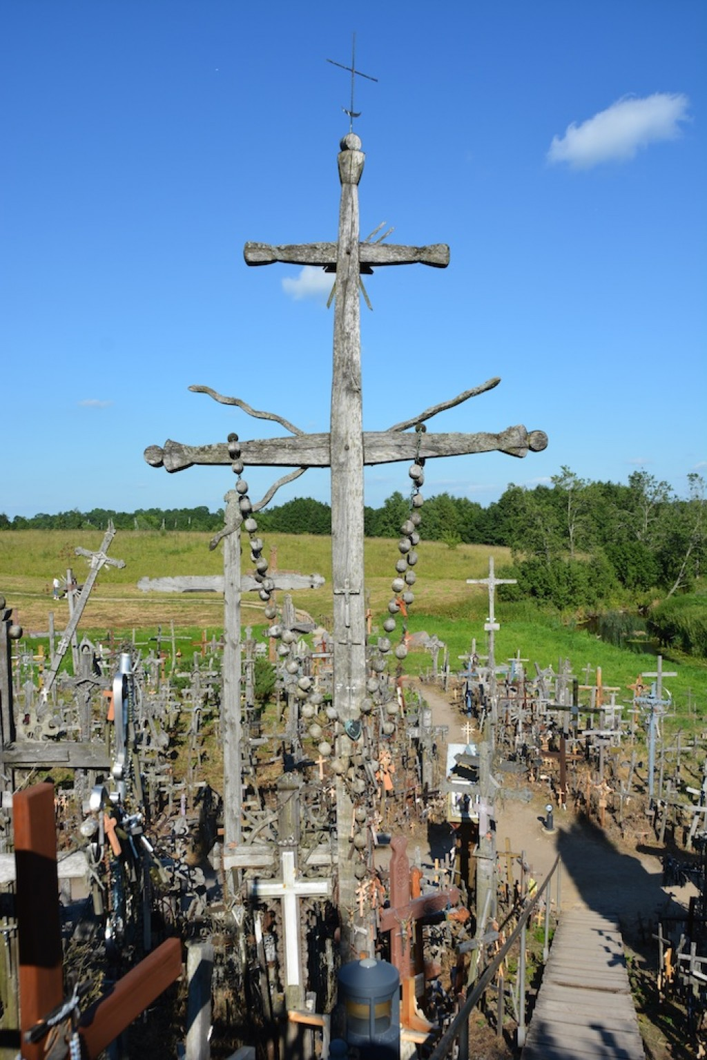 Just outside of Siaulai, the Hill of Crosses is a site of pilgrimage unlike any we had ever seen.