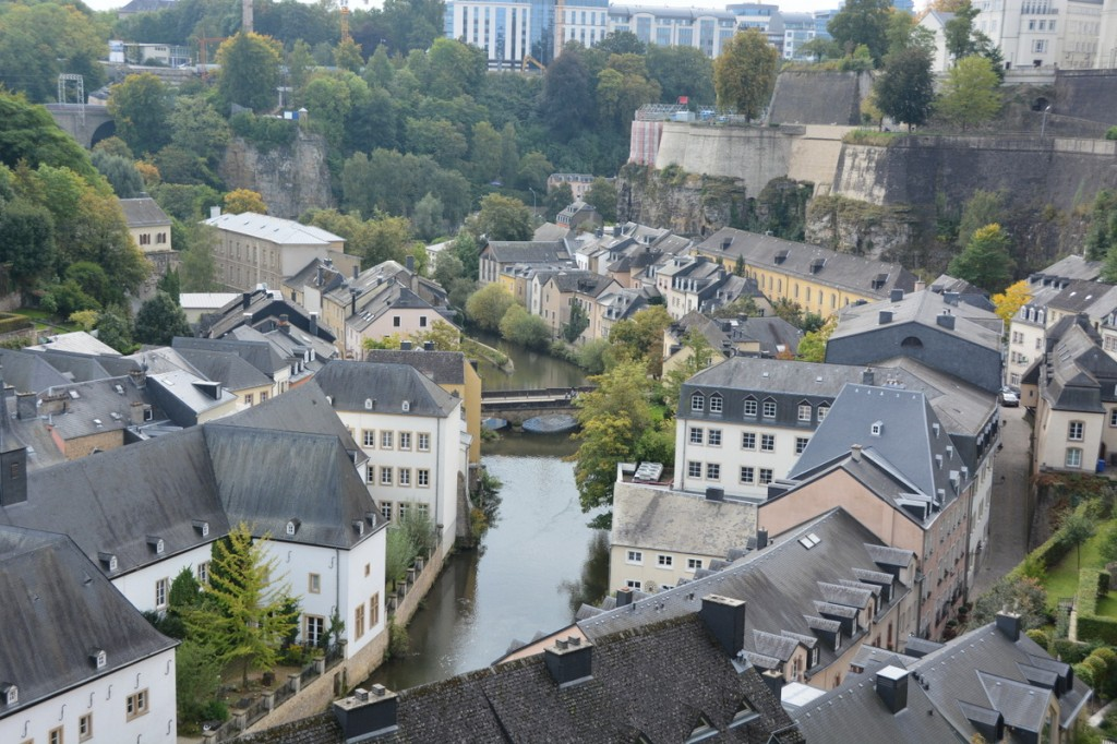 Luxembourg city was an interesting diversion, and we can now say that