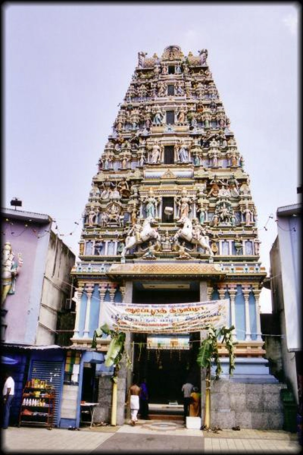 This is the Sri Maha Mariamman Temple.