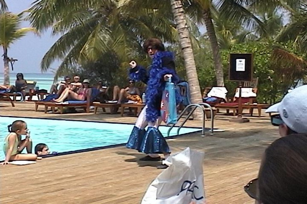 Daytime entertainment at Club Med Kani.