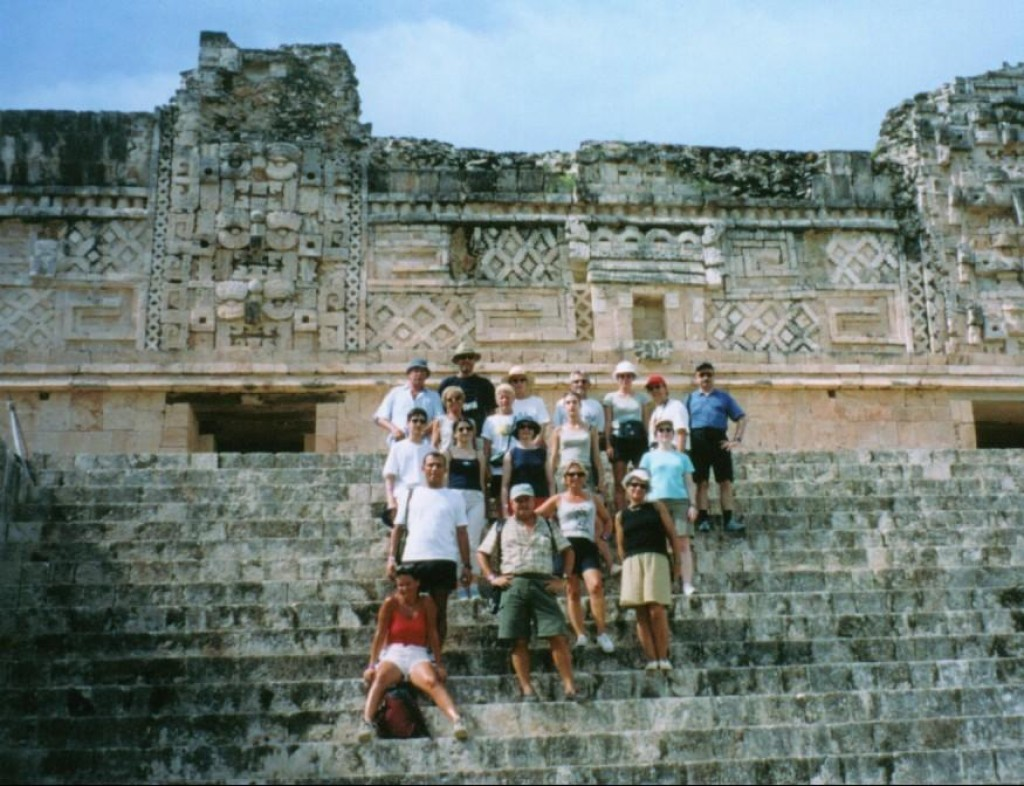 Here is the group we toured the ruins with.
