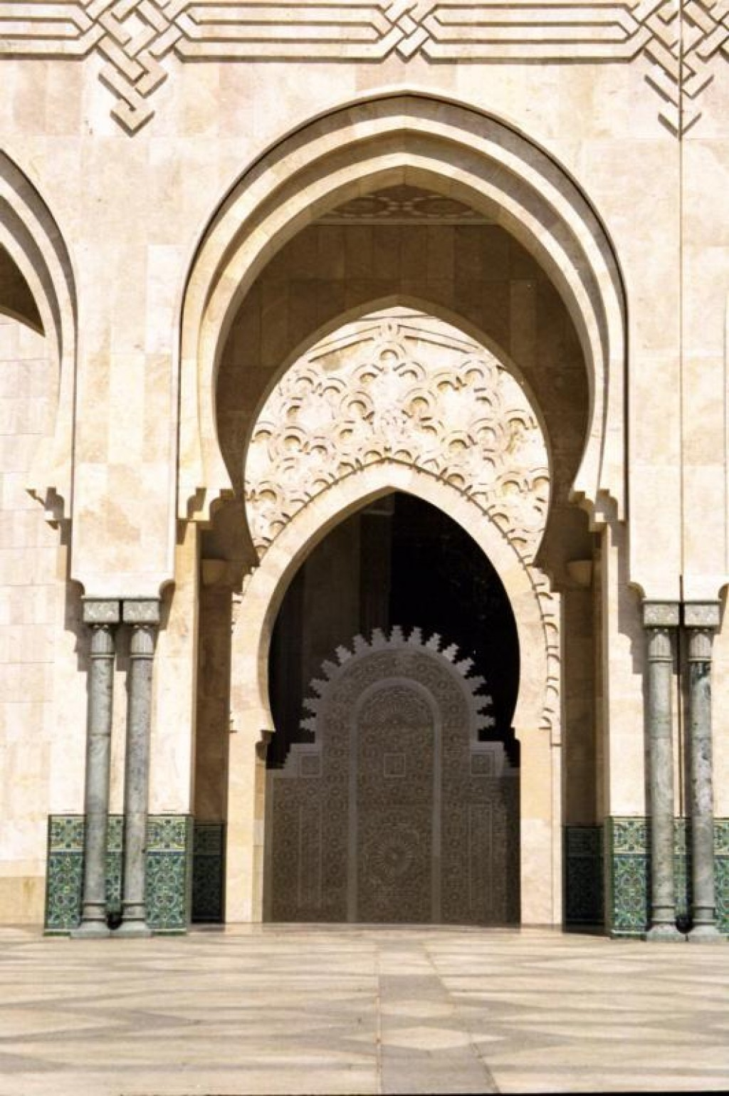 It is the only Mosque in Morocco to allow non-Arabs inside. (for a steep price!)