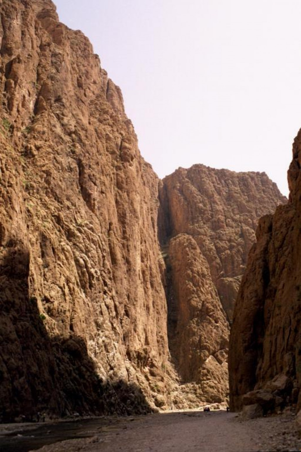 This is the entry to the Todra Gorge.
