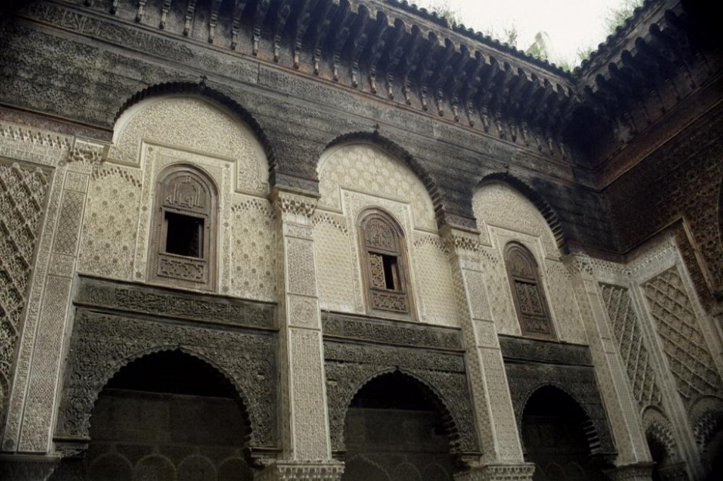 This is the Bou Inania madrasa.