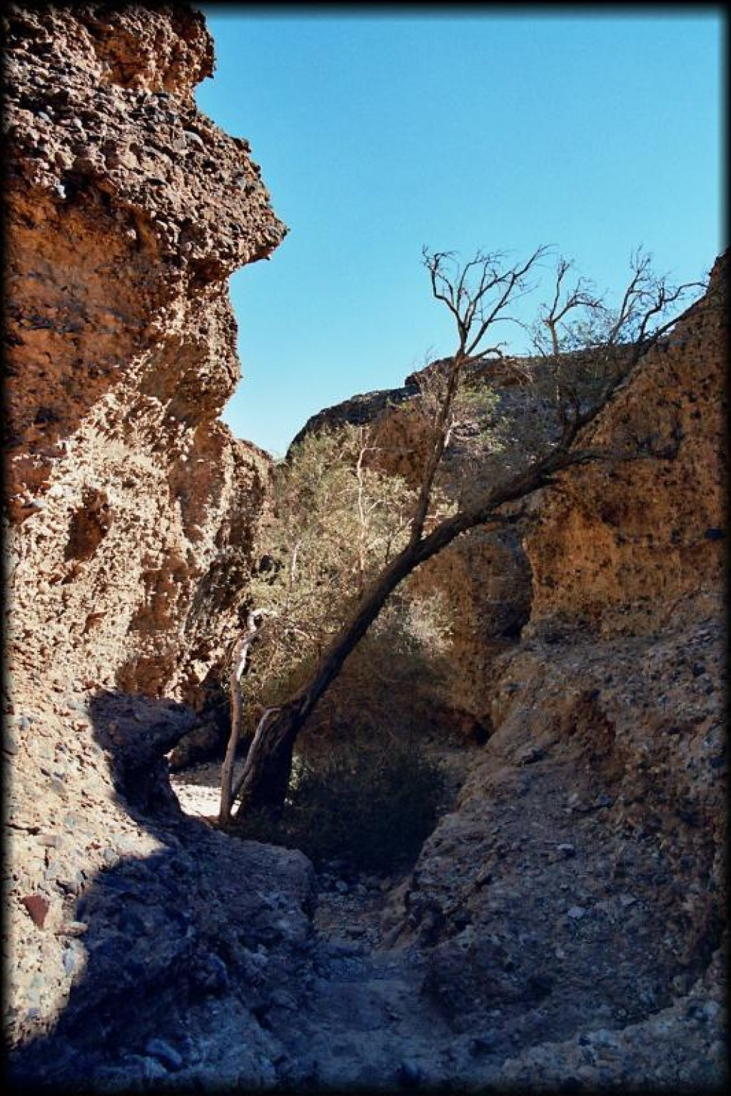 We visited Sesriem Canyon in the Namib Desert as part of the Crazy Kudu Safari.