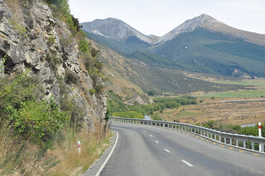 Crossing from Christchurch to Franz Josef over the scenic Arthur's Pass on the South Island