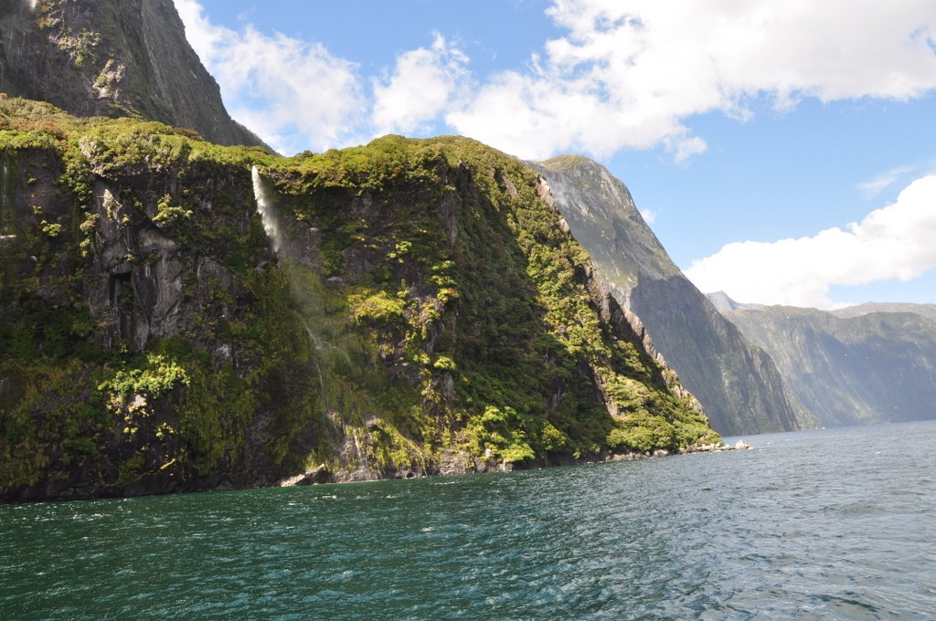 Milford Sound was the highlight of our trip to New Zealand.  The scenery of the sound was simply stunning, and the boat tour was a great way to see it.