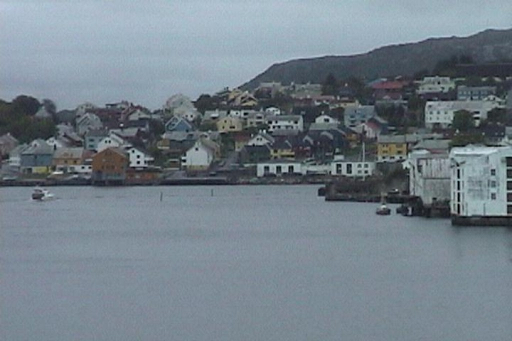 Kristiansund, one of the many small cities and towns that we stopped in.