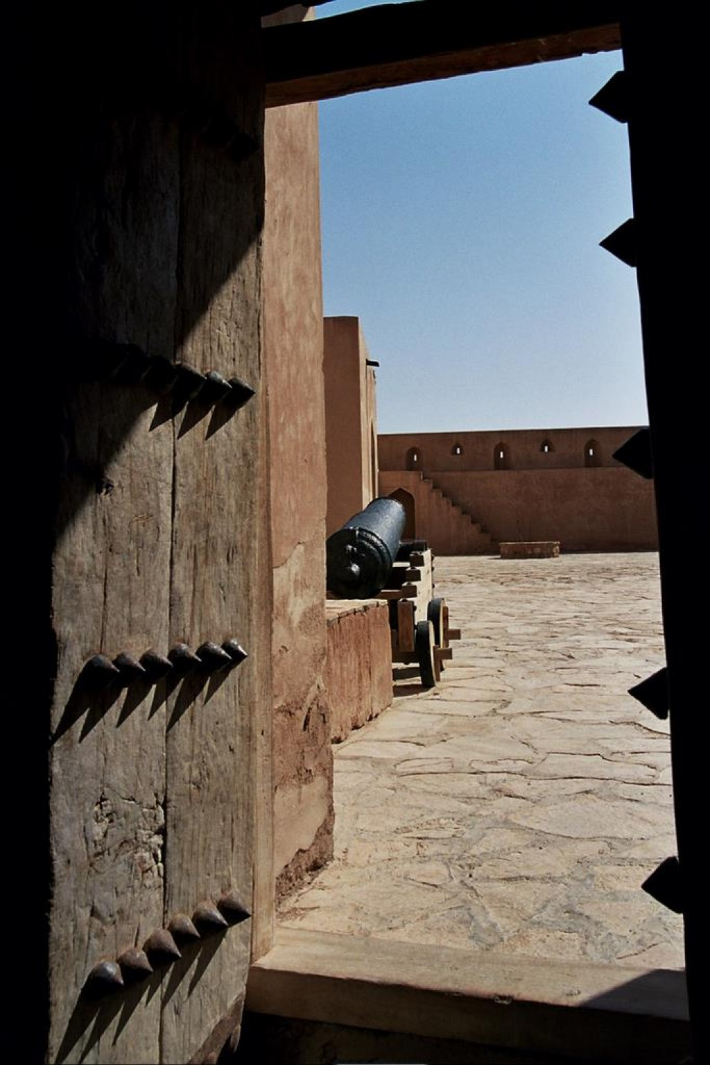 Jabrin Fort rises out of the middle of nowhere in the desert, and wows even the most jaded fort visitor.
