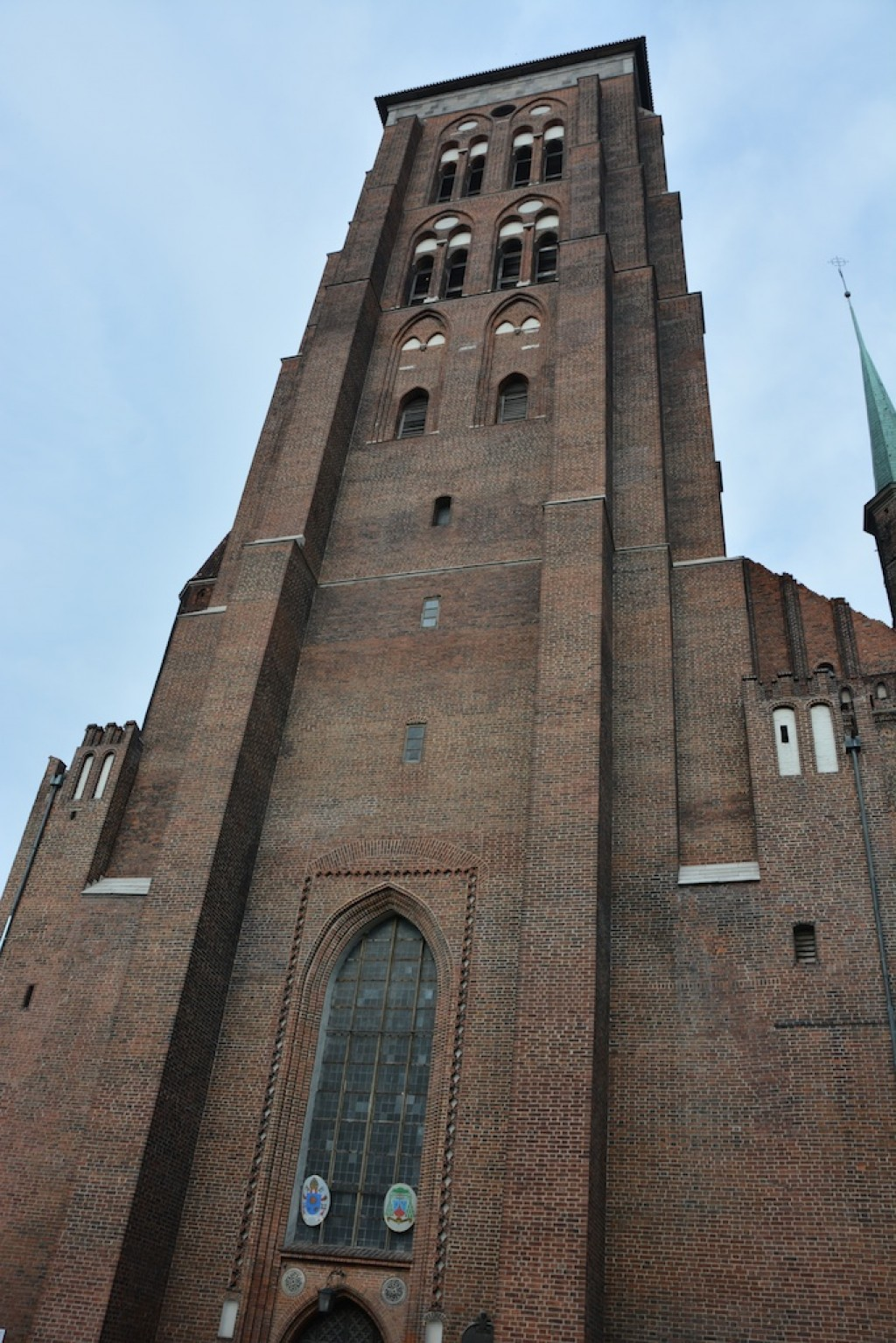 St. Mary's Church, the largest brick church in the world.