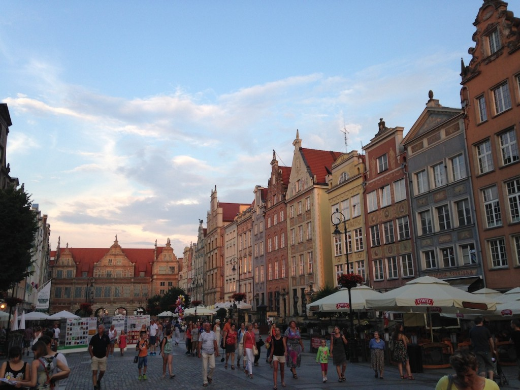We really fell in love with Gdansk, Poland.  We enjoyed the lovely pedestrian areas, the wonderful amber shopping, and the wide pedestrian spaces - and one of the most beautiful hotels we've ever stayed at.