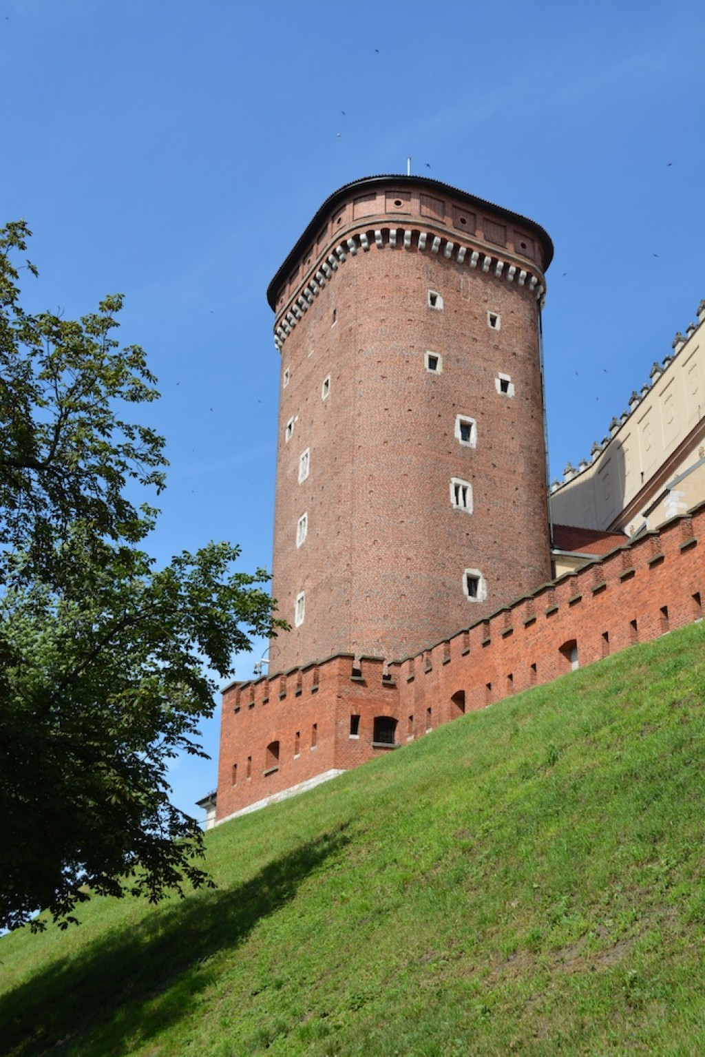Tower outside the Wawel Royal Castle
