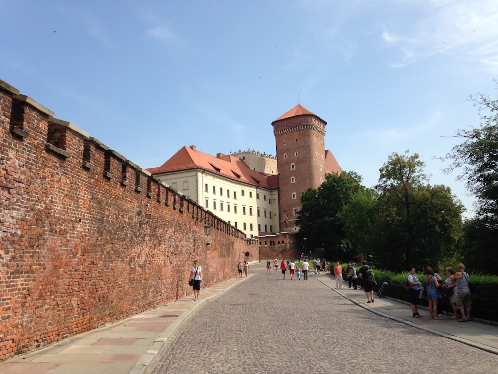 Getting tickets to Wawel Castle is incredibly difficult. We had to come back the next day, the hours were strange and you have to buy a separate ticket for everything.