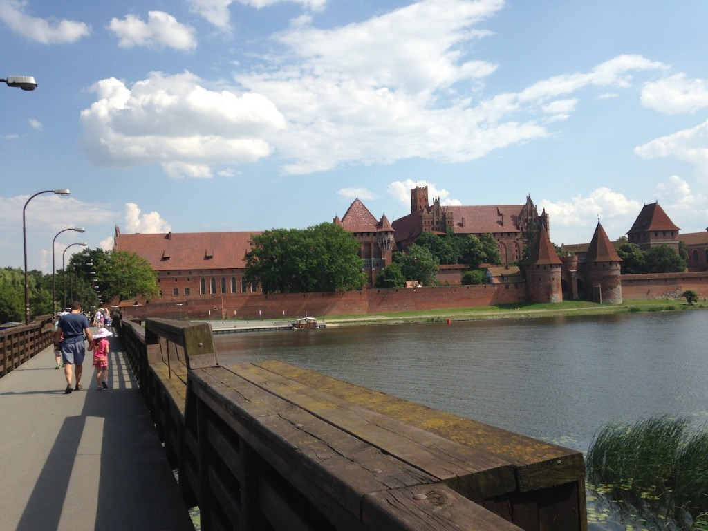 Malbork Castle is the largest castle in the world, as measured by surface area.  The accessible parts of the castle are significantly smaller, however, so don't be overwhelmed by the statistic. We really enjoyed exploring the castle - especially once we gave up on following the map.