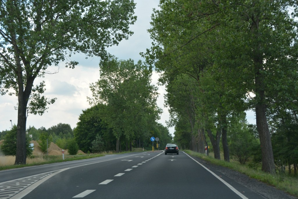 Easy driving from Berlin to Torun