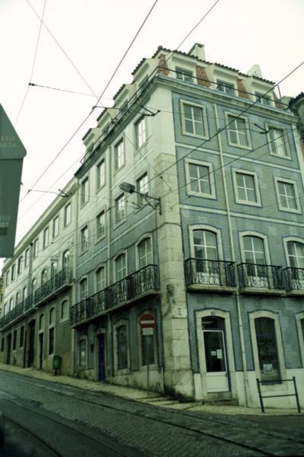 Notice that the building is covered in some of Portugal's famous tiles.