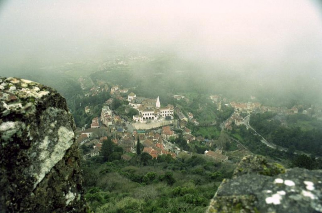 The view out over Sintra.