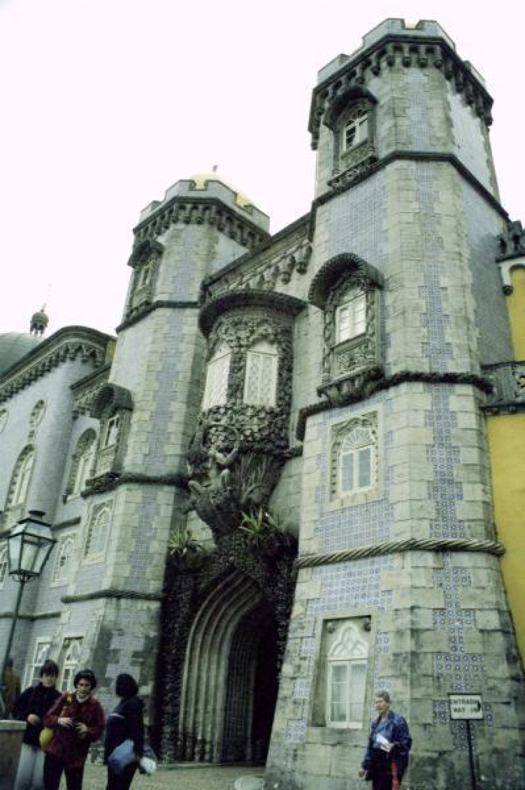 Sintra was one of the most interesting places we visited in Portugal.  It is home to three different castles.