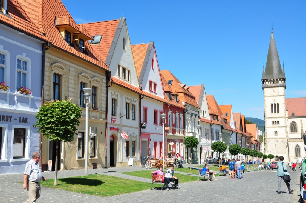 We enjoyed our visit to Bardejov, with a beautiful, compact town square, and no tourists.  It is a UNESCO world heritage site.