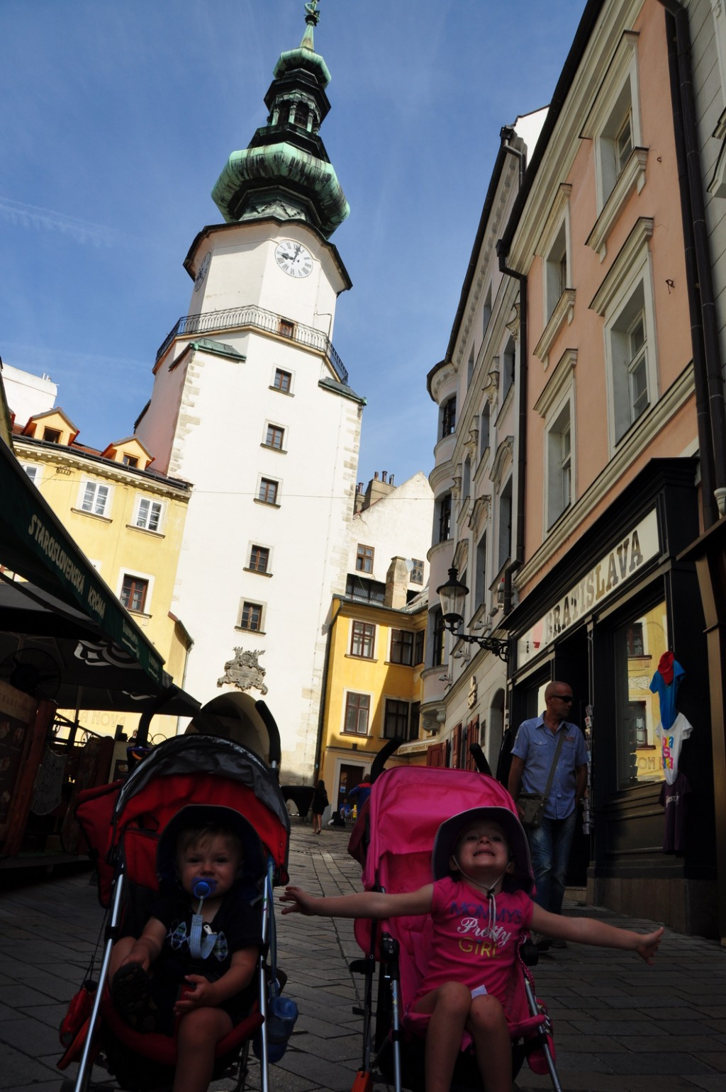 Bratislava was not a highlight of Slovakia for us.  The architecture was rather drab, and the old city didn't have that much to see.  It was a good place to pick up souvenirs though!