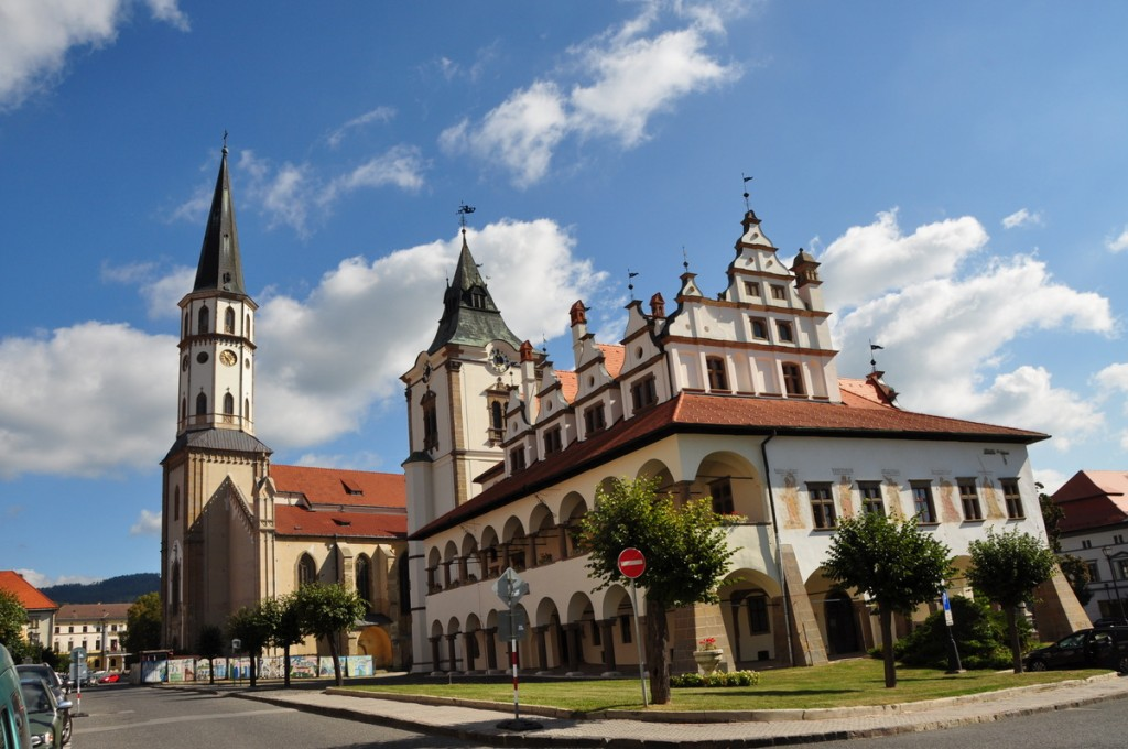 Town square of Levoca - another UNESCO world heritage site