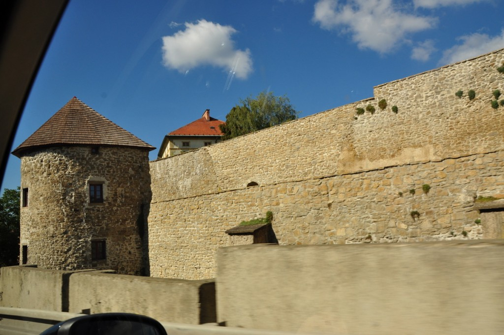 Well preserved town wall