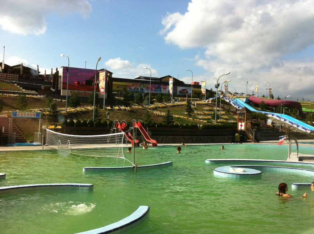 We stopped at Aquapark Tatralandia Holiday Resort to break up a road trip, and were glad we did.  It was a very impressive water park with a great childrens area.