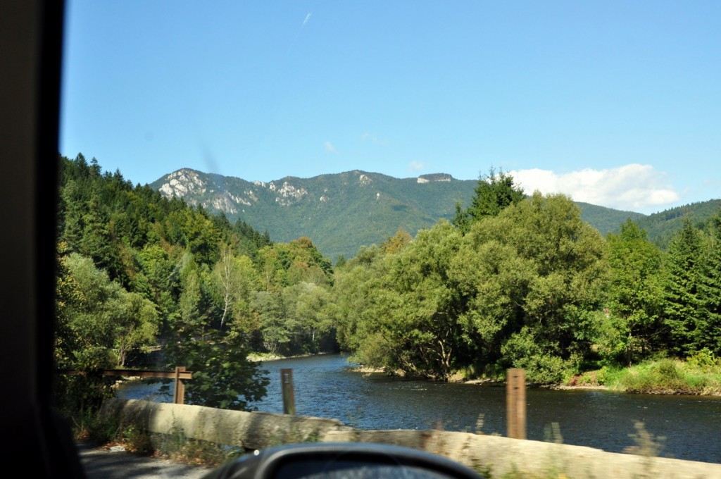 We took a side trip to drive through the High Tatras. The scenery was stunning and worth the detour.