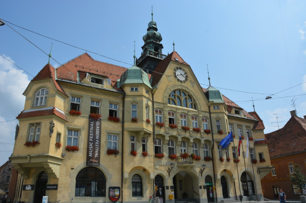 The New City Hall of Ptuj