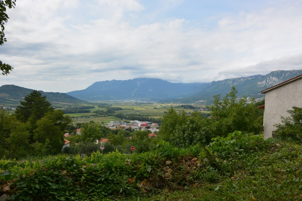 We spent a couple of hours touring the Vipava Valley and doing a little but of wine tasting.
