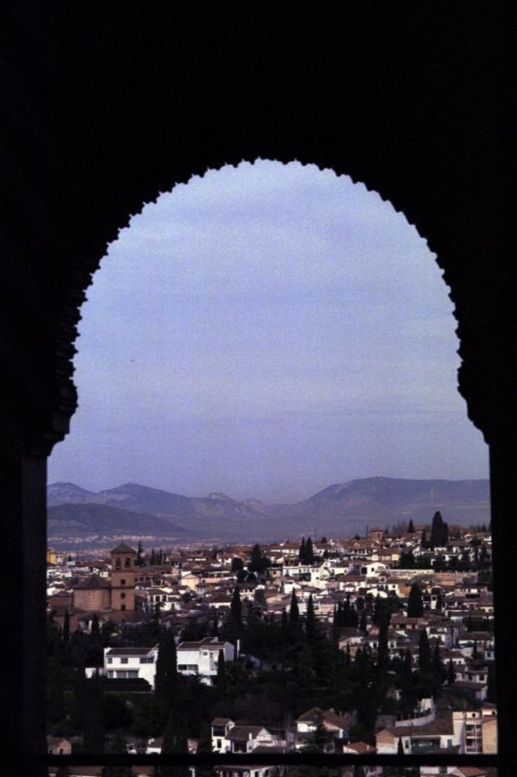 Here is a view looking over Granada, from one of the buildings.