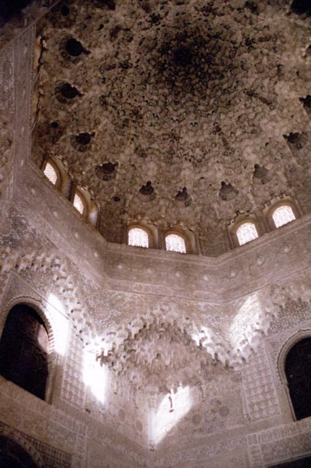 It is impossible to accurately capture the Moorish architecture.  It was unlike any other buildings we'd seen.
