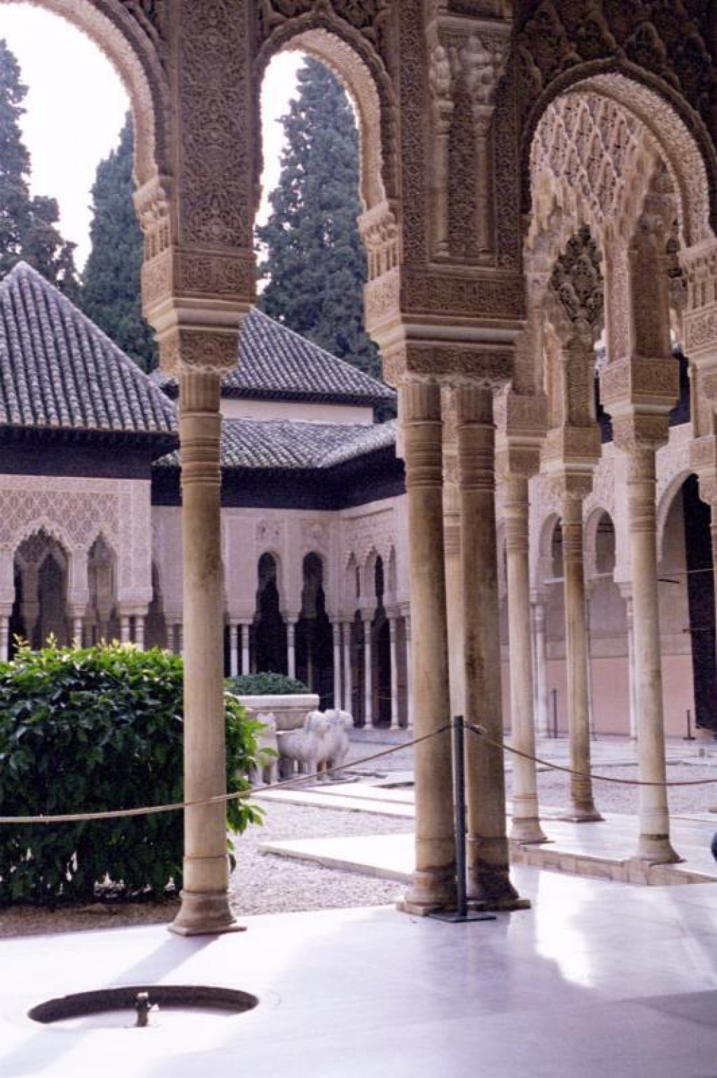 The Alhambra was the palace and fortress of the Moorish monarchs of Granada.