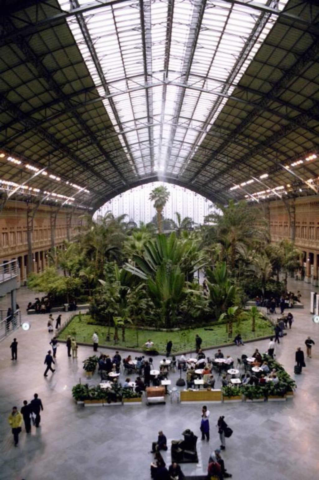 This is a train station Atocha, complete with its own tropical forest.  This has to be the coolest train station we've ever been in. Except Orsay. But that's not a train station any more. Anyways...