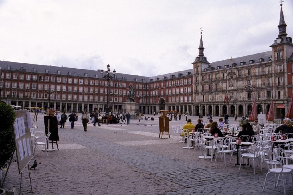 This is Plaza Mayor.