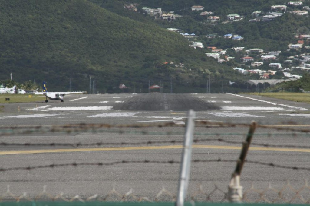 Juliana Airport is one of the only places you can legally be so close to landing jumbo jets. It's quite a rush!