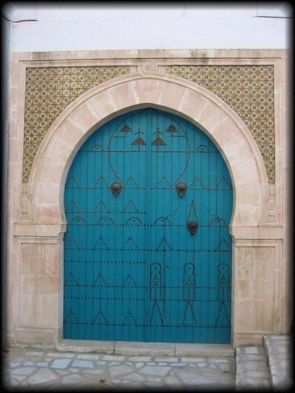Sousse was founded in the 9th century.  This is a picture of the Ribat.