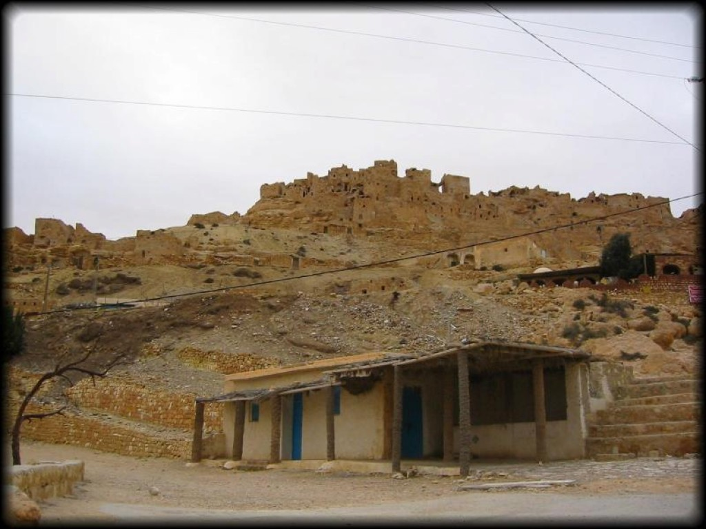 The next day we visited the ruins of Chenini.  It is a Ksour (fortified Berber stronghold) hill village.  We arrived early in the morning and had the place to ourselves.
