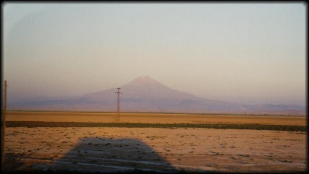 As the sun set on our day of travelling, we could see Mount Hasan, an extinct stratovolcano (towering at 10,720ft above sea level), in the distance.