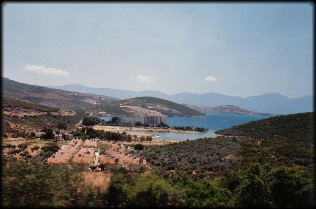 We took this picture on our way out to Ephesus the next morning.