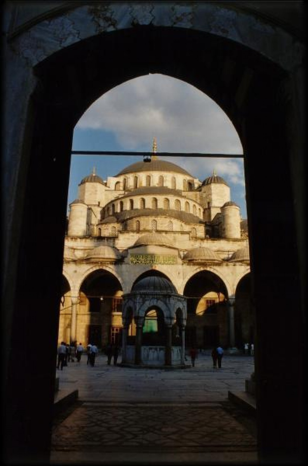 The Aya Sofia was just short a walk away.