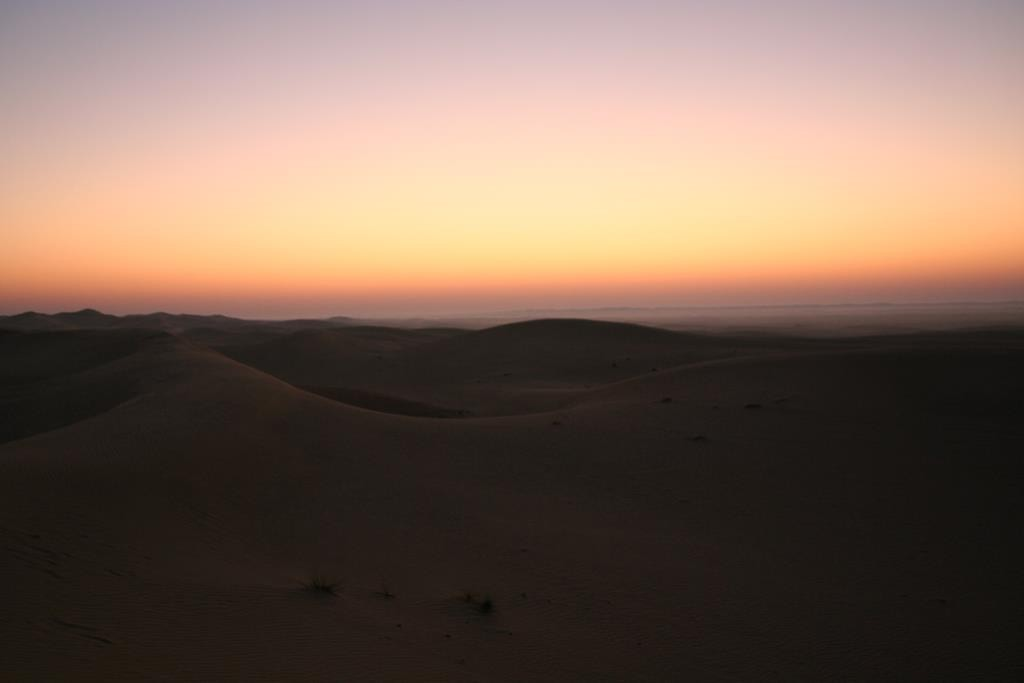 We spent a night camped in the dunes, underneath the stars, outside Abu Dhabi. We were on a safari organised by Arabian Adventures.