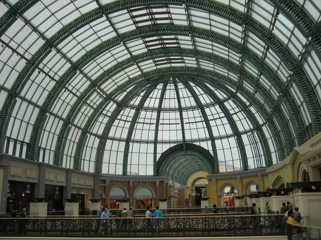 The mall of the Emirates is the third largest mall in the world.