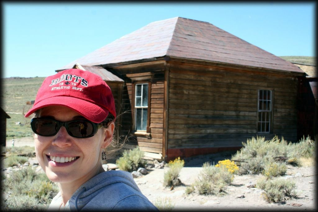 We visited Bodie State Historic Park in the Eastern Sierras.  It is an abandoned gold mining town.
