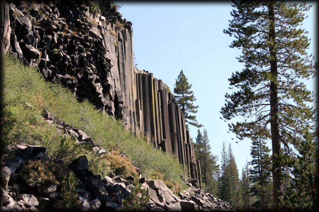 We visited the Devils Postpile National Monument for some beautiful hiking.